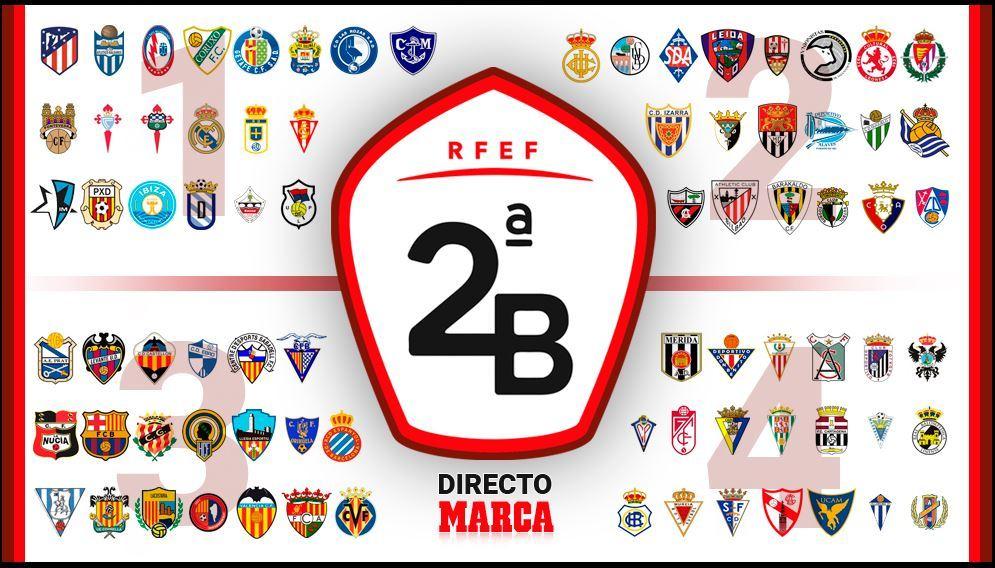 Segunda B y Tercera: partidos y resultados de la jornada 7
