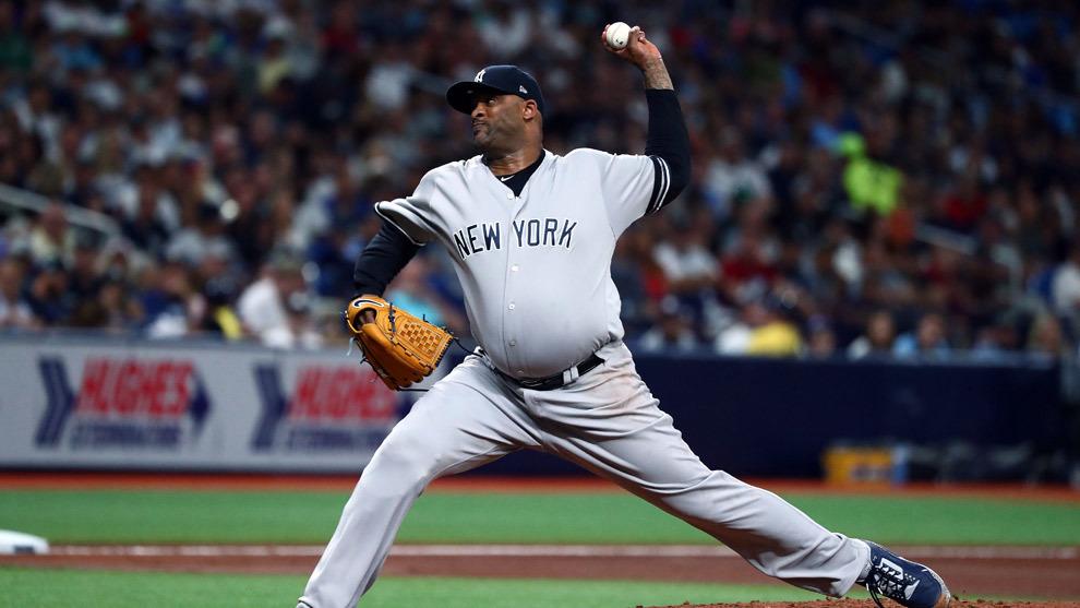 C.C. Sabathia no estará disponible para los Yankees