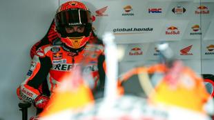Marc Márquez en el GP de Tailandia.