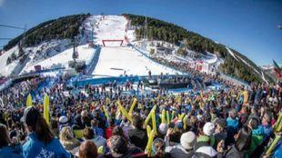 Andorra ovacionó las finales de la Copa del Mundo de esquí alpino