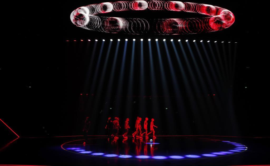Lionel Messi estrenó su increíble espectáculo en el Cirque du Soleil