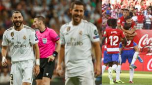 El Real Madrid y el Granada protagonizarán el duelo de primero contra...
