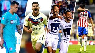Cruz Azul vs América y Chivas Pumas encabezan la jornada 13