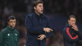 Mauricio Pochettino (47), en el partido del Tottenham ante el Bayern.