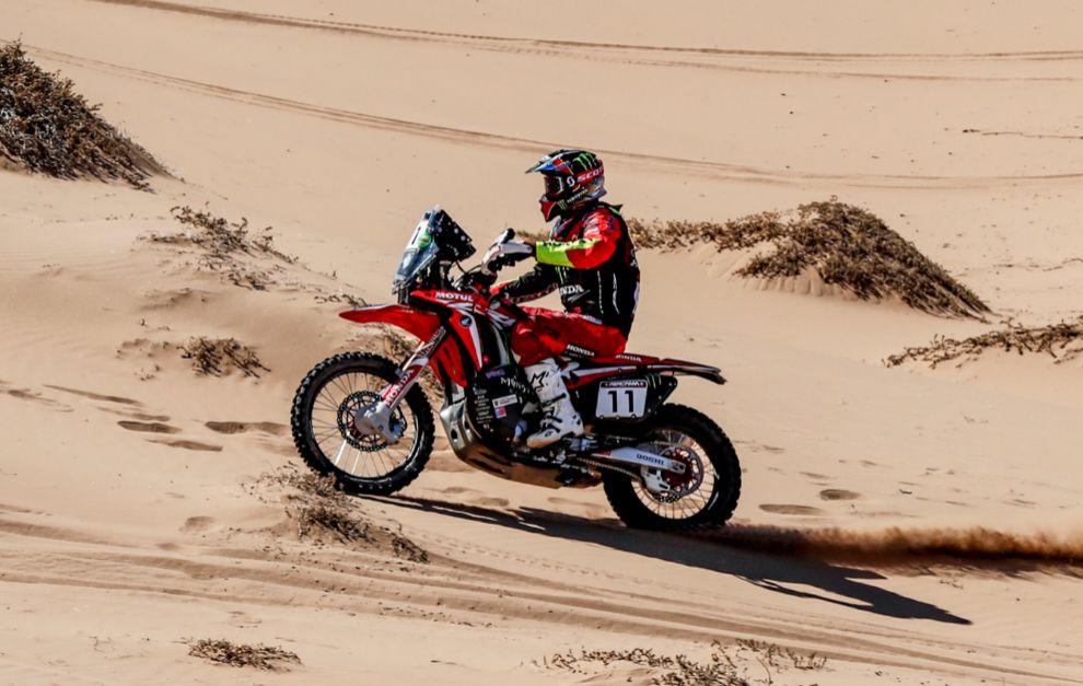 Joan Barreda (Honda) luchará por el triunfo en Marruecos.