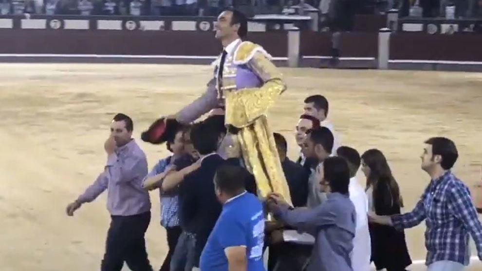 El Cid, a hombros en Las Ventas.