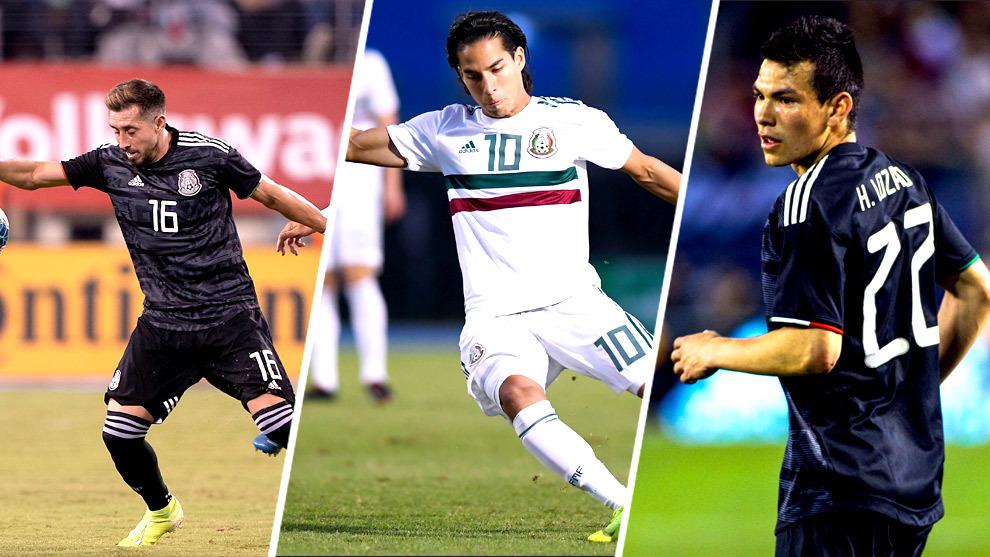 Herrera, Lainez y Chucky destacan en la convocatoria