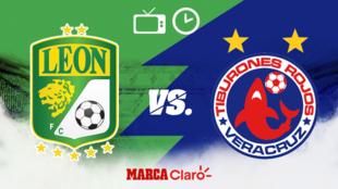 León vs Veracruz: Horario y dónde ver por tv