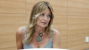 La periodista y presentadora de Movistar+, Mónica Marchante.