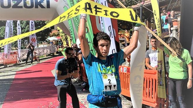 Manuel Merillas, tras ganar el Desafío El Cainejo.