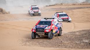 Los Toyota, en Marruecos.