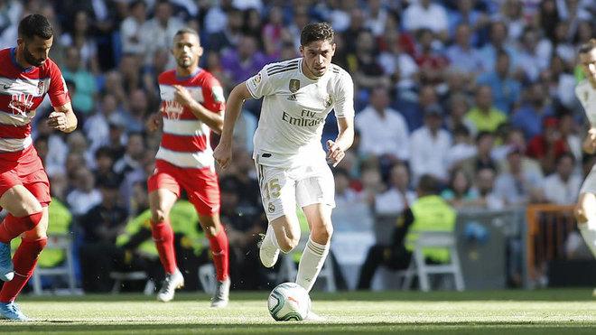 Valverde, ante el Granada.