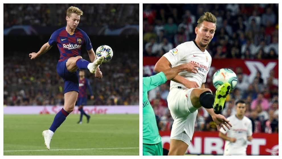 Fc Barcelona Seville Laliga Brings Together The Brothers De Jong Spain S News