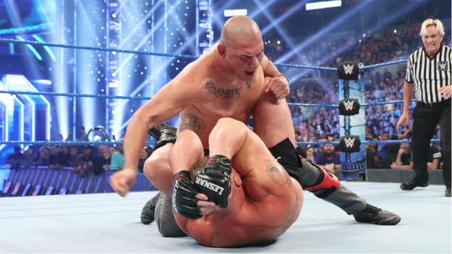 Caín Velasquez llega a WWE