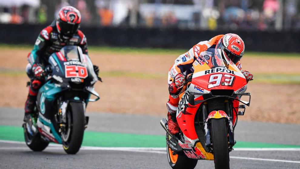 Marc Márquez agranda su leyenda al lograr su sexto título Mundial de MotoGP 15703492147358