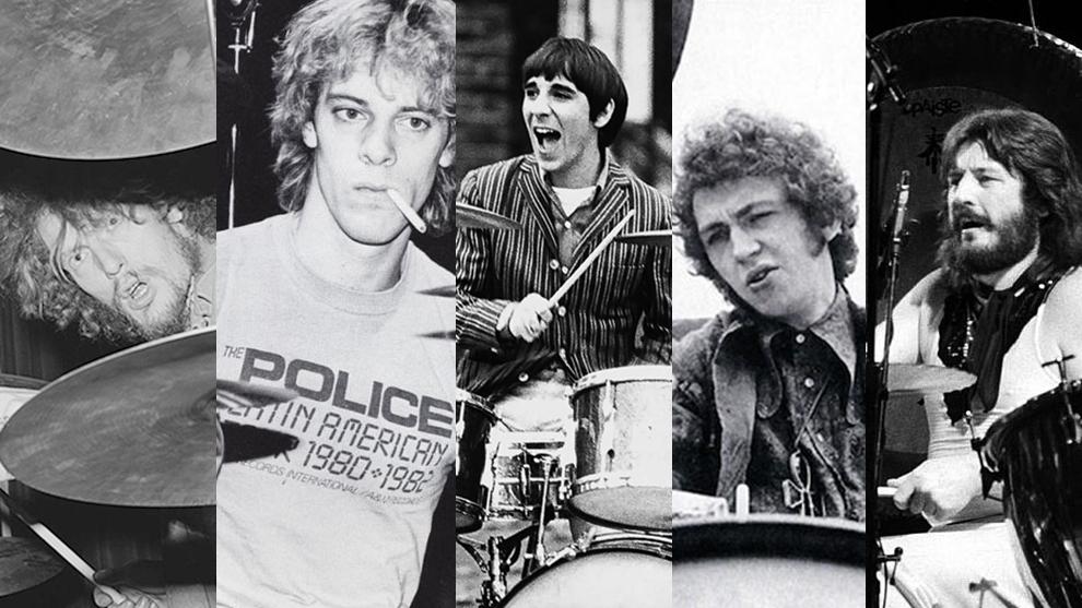 Algunos de los mejores baterías de la historia del rock