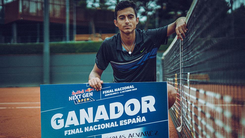 Nicolás Álvarez, campeón del torneo Next Gen de España