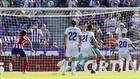 Sandro falla el penalti ante Oblak