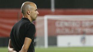 José Luis Sánchez Vera, entrenador del Atlético de Madrid.