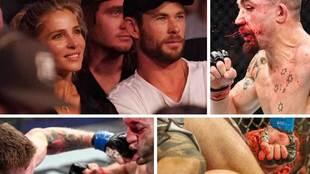 Los actores Chris Hemsworth y Elsa Pataky fueron dos de los rostros...