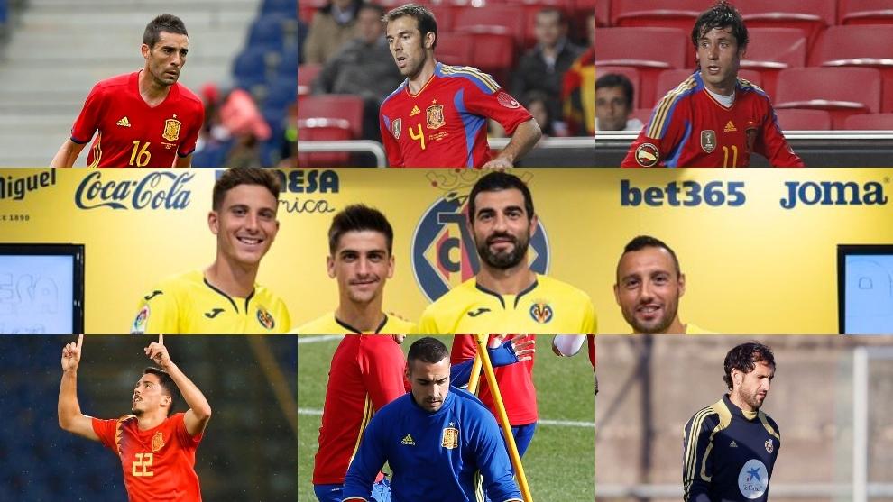 Internacionales españoles del Villarreal
