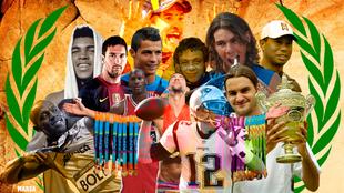 Nadal, Marc Marquez, Phelps, Michael Jornda y otros mitos del deporte...