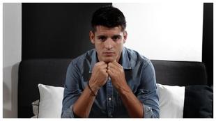 Morata posó para MARCA y repasó toda la actualidad del equipo...