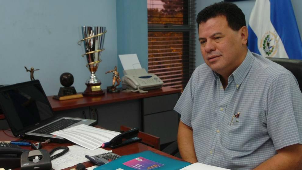 Reynaldo Vásquez, en su despacho