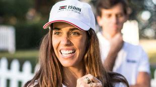 Ona Carbonell, en el acto de ISDIN.