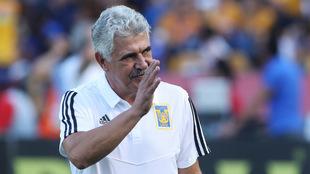 Ricardo Ferretti, técnico de Tigres.