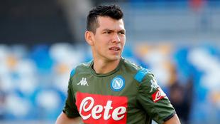 Hirving Lozano apenas suma un gol con su nuevo equipo.