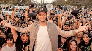 Vela se ha convertido en el 'rey' de Los Angeles.
