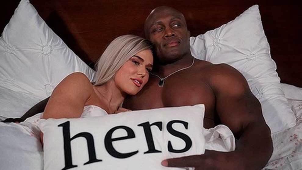 CJ Perry y Bobby Lashley, estrellas de la WWE, en la cama