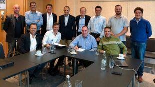 Representación de la RFEDI en las reuniones internacionales para...