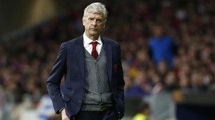 Wenger, con el Arsenal.