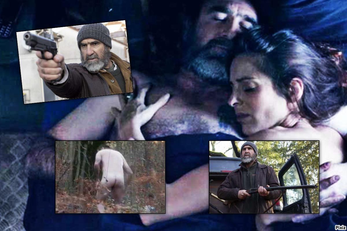 Fotogramas de Eric Cantona en el telefilme 'Le Voyageur'