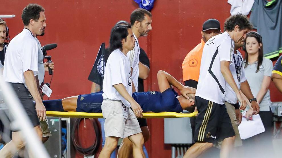 Marco Asensio broke