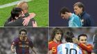 Messi, con Guardiola y el Tata, en el Bernabéu y contra Puyol y Xavi