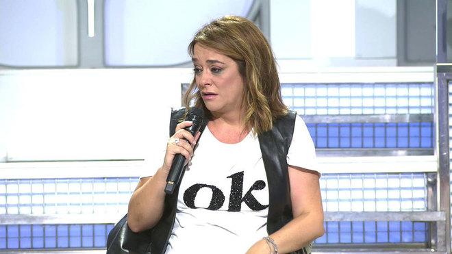Toñi Moreno afectada en MYHYV al enterarse de la falsa noticia sobre...