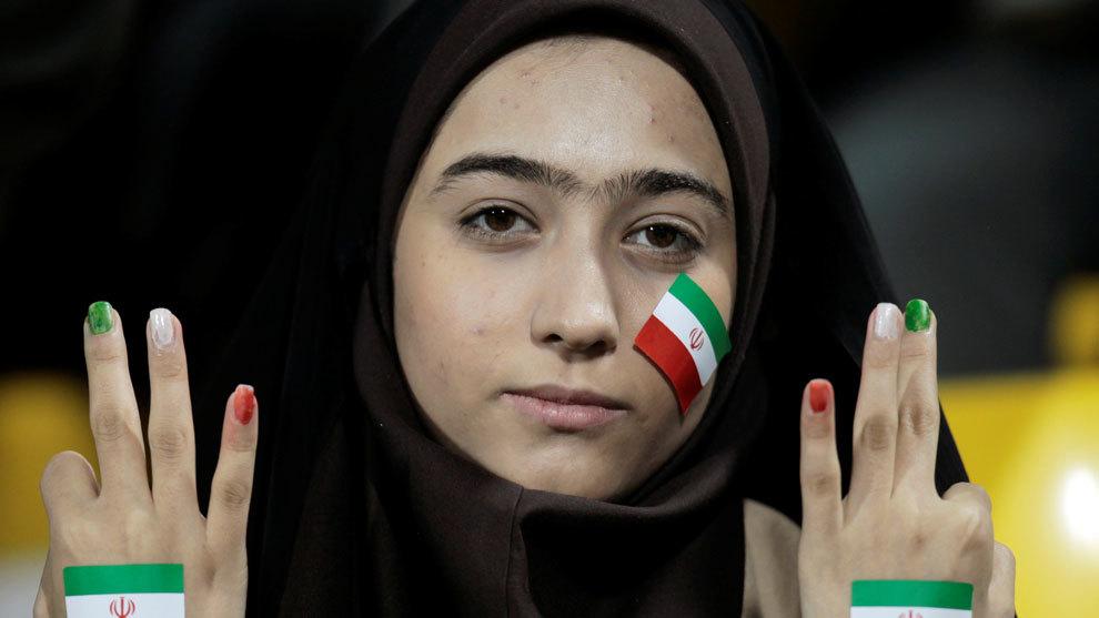 Aficionada de Irán