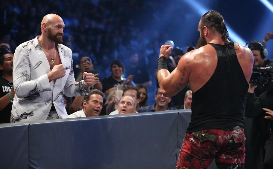 Fury y Strowman cara a cara en Smackdown