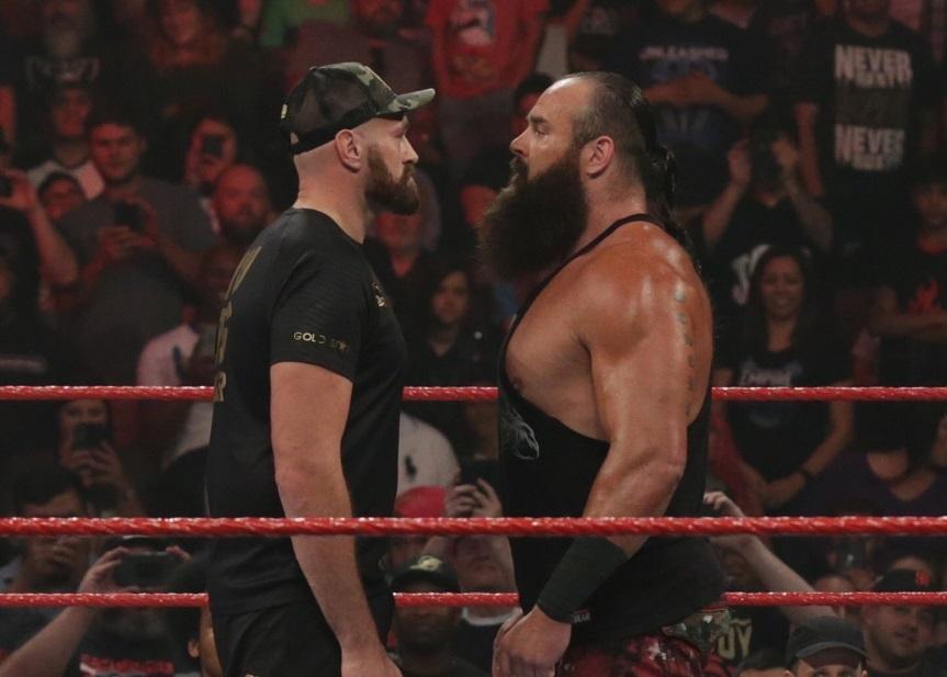 Fury vs. Strowman podrían disputarse en Arabia Saudita
