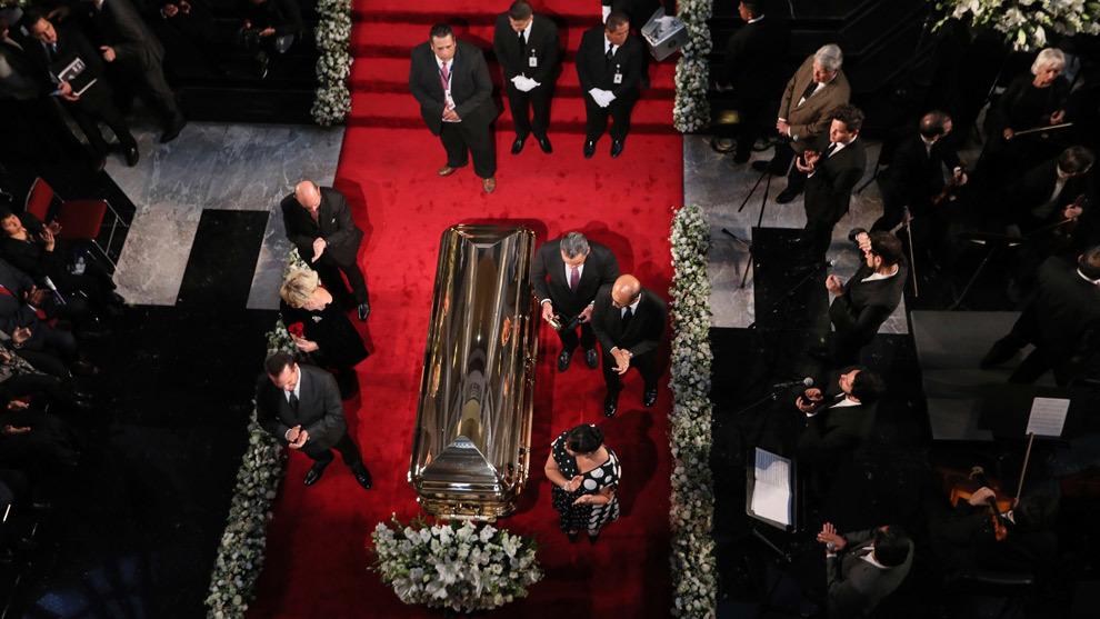 El último adiós a José José desde el Palacio de Bellas Artes