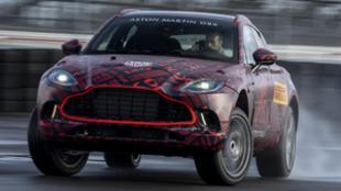 El Aston Martin DBX es el motor V8 de mayor rendimiento de la gama...