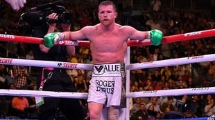 Saúl 'Canelo' Álvarez, boxeador profesional.