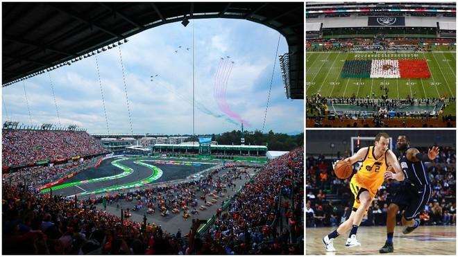 La NFL y la NBA llegarán a la CDMX tras el GP de México 2019.
