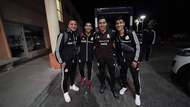 Los jugadores de la Selección mexicana ignoraron a su afición en Bermudas
