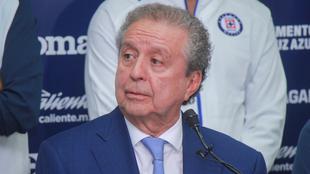 Víctor Garcés, directivo del Cruz Azul.