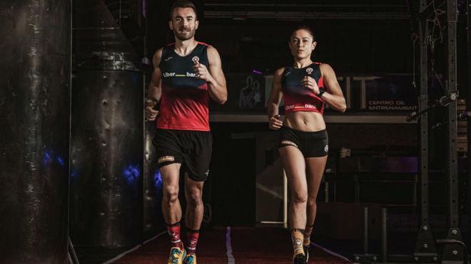Damian Espasandín y Paula Esteiro.