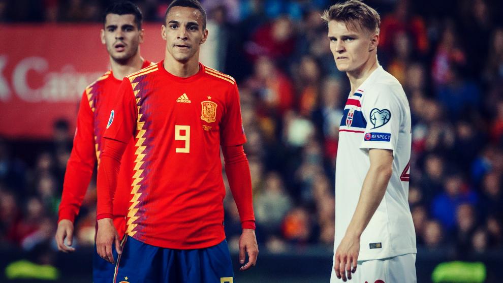 Rodrigo Moreno y Martin Odegaard apuntan a titulares en el Noruega -...